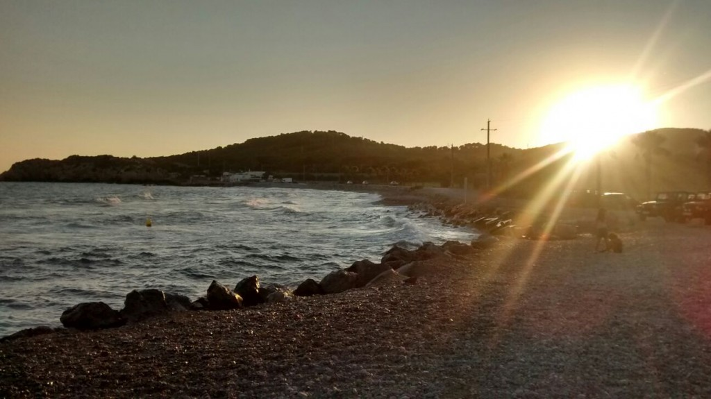 sunset Sitges